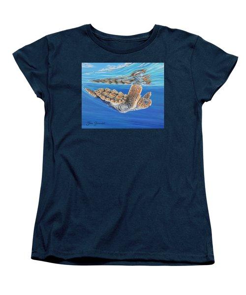 First Dive Women's T-Shirt (Standard Cut)