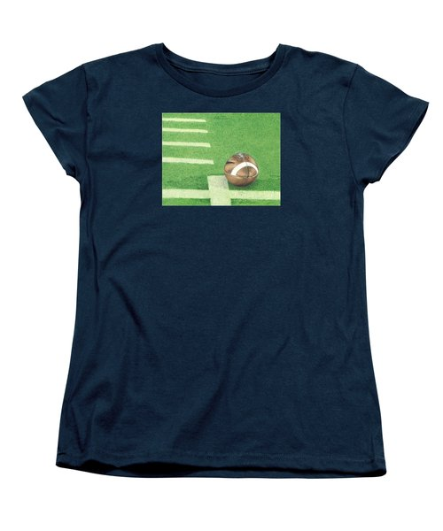 First Down Women's T-Shirt (Standard Cut)