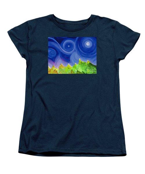 First Star By  Jrr Women's T-Shirt (Standard Cut) by First Star Art