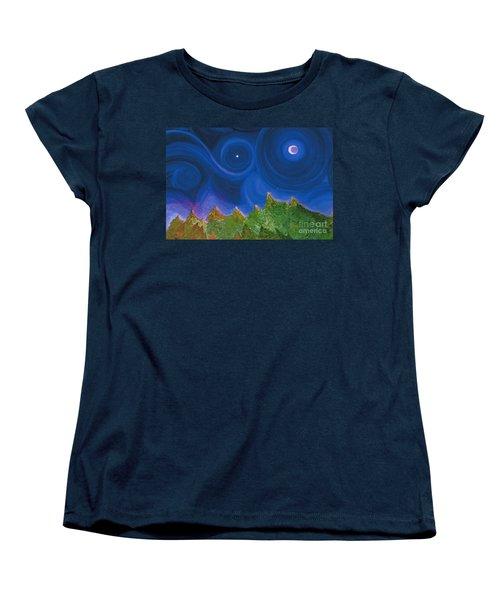 First Star Wish By Jrr Women's T-Shirt (Standard Cut) by First Star Art
