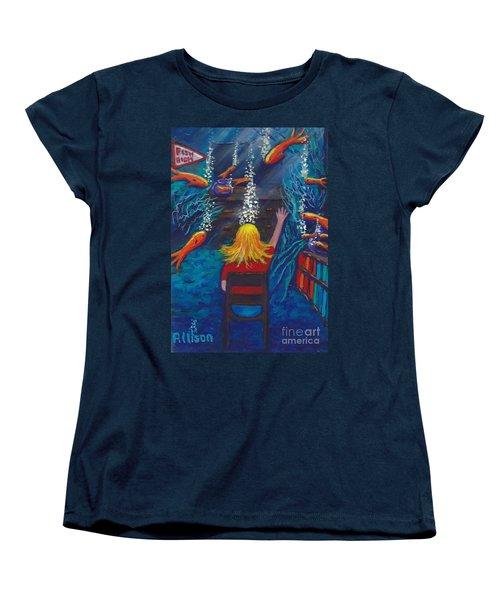 Fish Dreams Women's T-Shirt (Standard Cut)