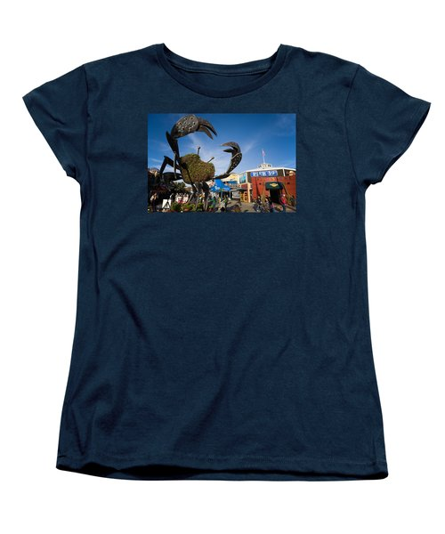 Fishermans Wharf Crab Women's T-Shirt (Standard Cut)