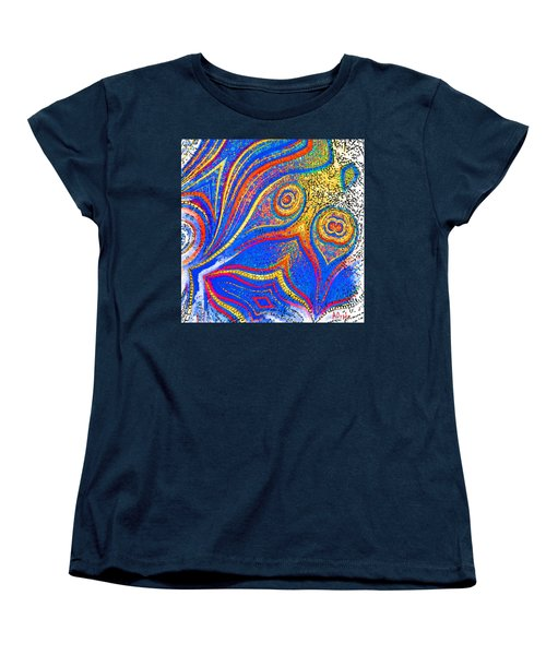 Fishing For Colours Women's T-Shirt (Standard Cut) by Alec Drake