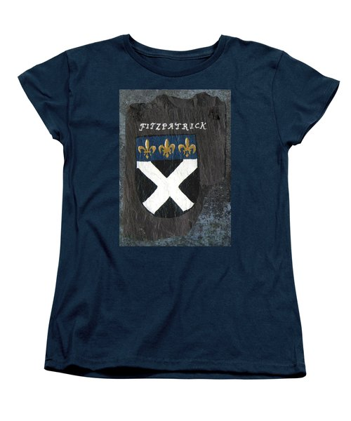 Women's T-Shirt (Standard Cut) featuring the painting Fitzpatrick by Barbara McDevitt