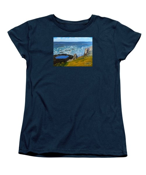 Flagstaff Point  Women's T-Shirt (Standard Cut) by Pamela  Meredith