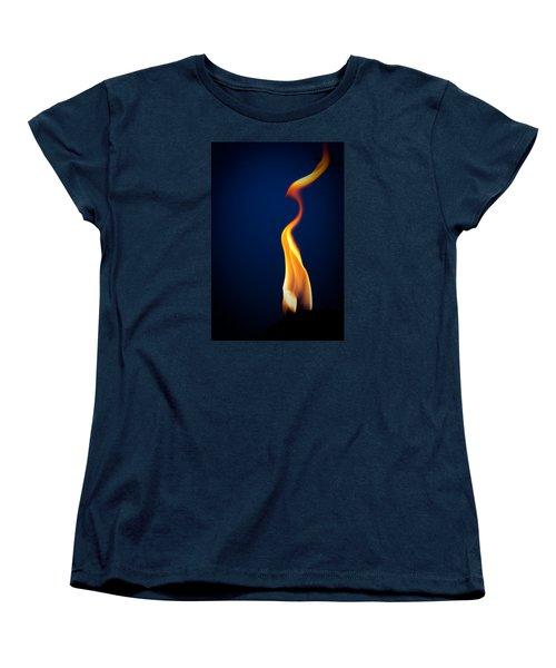 Flame Women's T-Shirt (Standard Cut) by Darryl Dalton