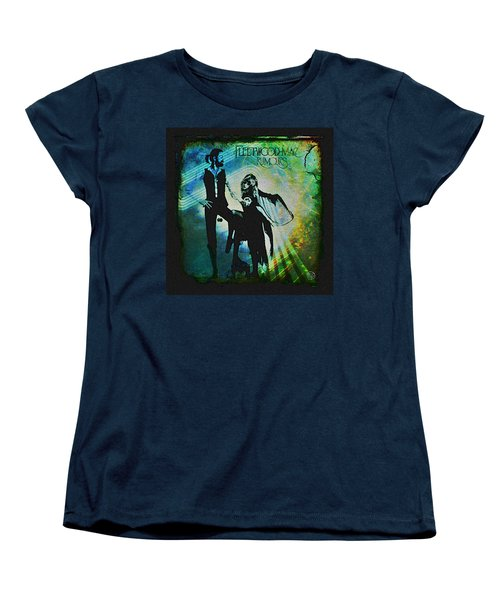 Fleetwood Mac - Cover Art Design Women's T-Shirt (Standard Cut) by Absinthe Art By Michelle LeAnn Scott