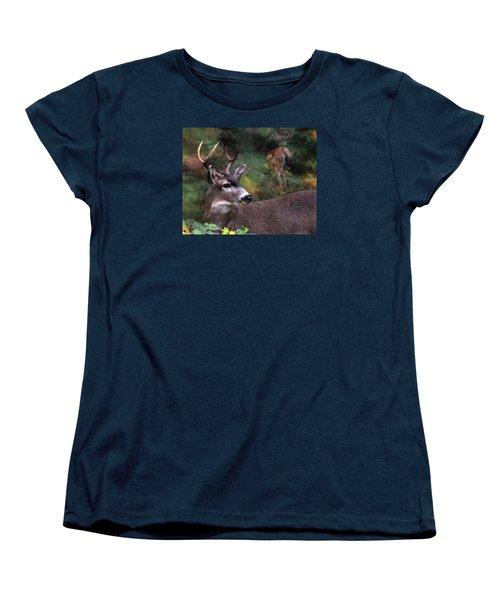 Women's T-Shirt (Standard Cut) featuring the photograph Flirt by I'ina Van Lawick
