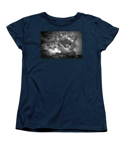 Florida Keys Driftwood Women's T-Shirt (Standard Cut) by Bradley R Youngberg