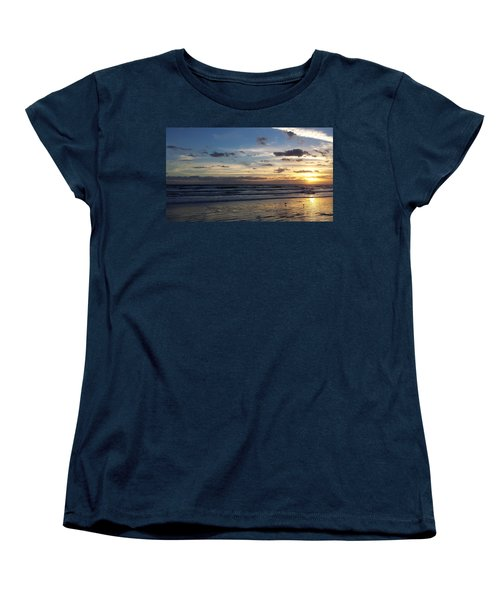 Women's T-Shirt (Standard Cut) featuring the photograph Florida Sunrise by Ally  White