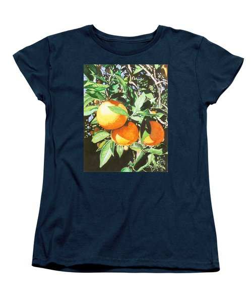 Women's T-Shirt (Standard Cut) featuring the painting Florida's Finest by Barbara Jewell
