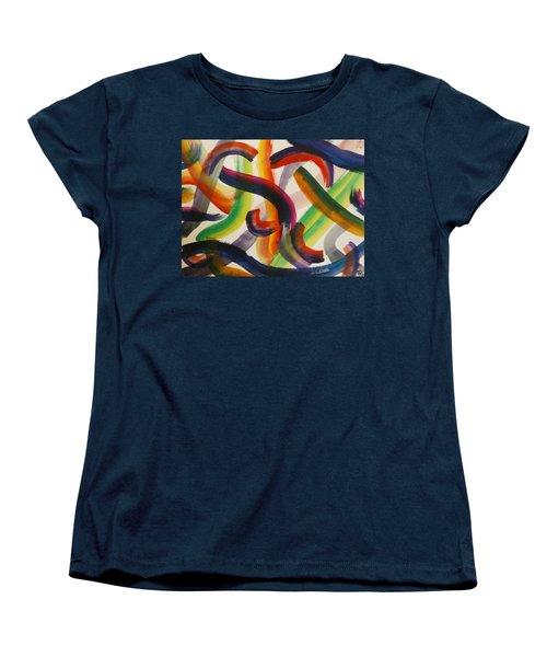 Flow Women's T-Shirt (Standard Cut) by Thomasina Durkay