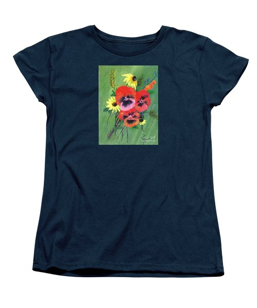 Flower Bunch Women's T-Shirt (Standard Cut)