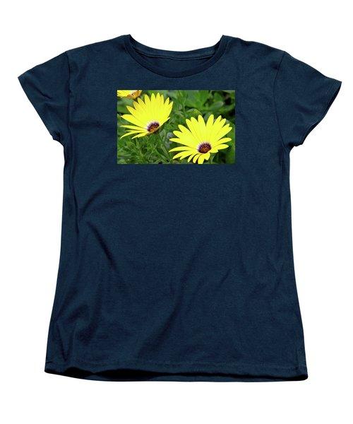 Flower Power Women's T-Shirt (Standard Cut) by Ed  Riche