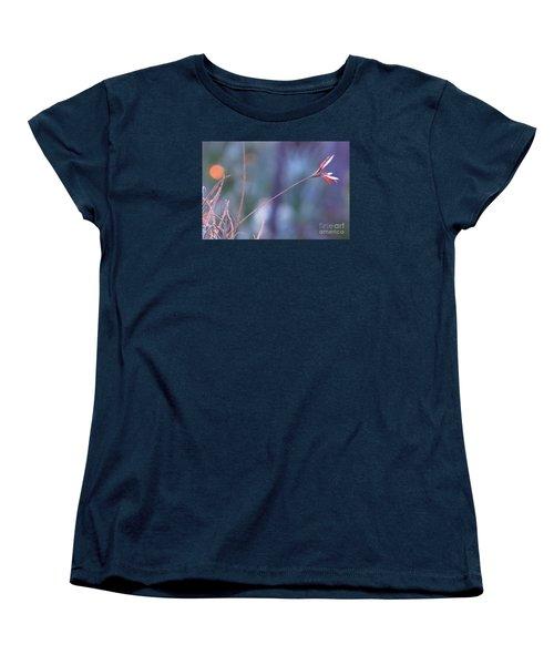 Flowering Moss Women's T-Shirt (Standard Cut) by Joy Hardee