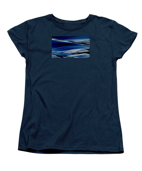 Women's T-Shirt (Standard Cut) featuring the photograph Flowing Movement by Janice Westerberg