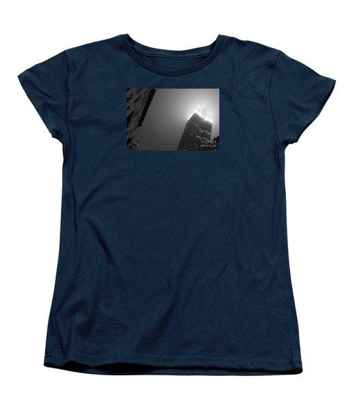 Foggy Empire Women's T-Shirt (Standard Cut) by Steven Macanka