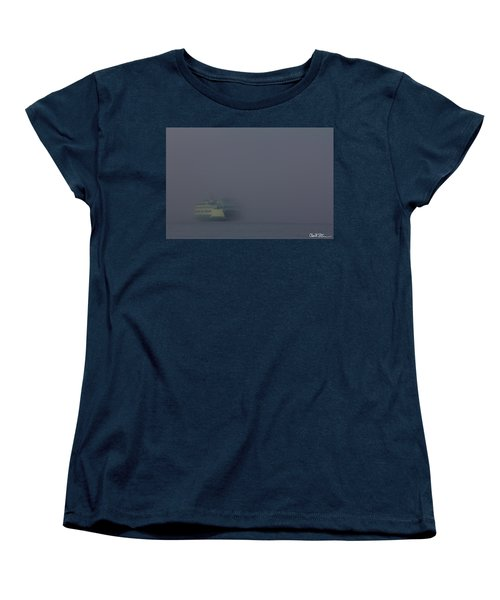 Foggy Ferry Ride Women's T-Shirt (Standard Cut)
