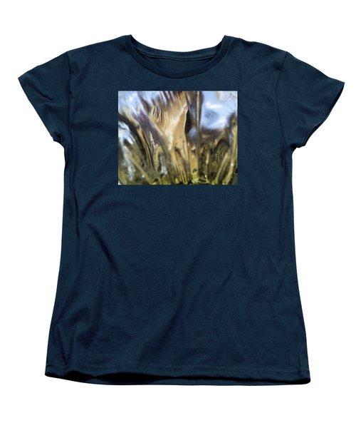 Women's T-Shirt (Standard Cut) featuring the photograph Forbidden Forest by Martin Howard