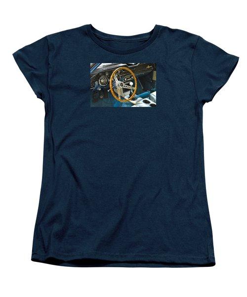 Ford Mustang Shelby Women's T-Shirt (Standard Cut) by Pamela Walrath