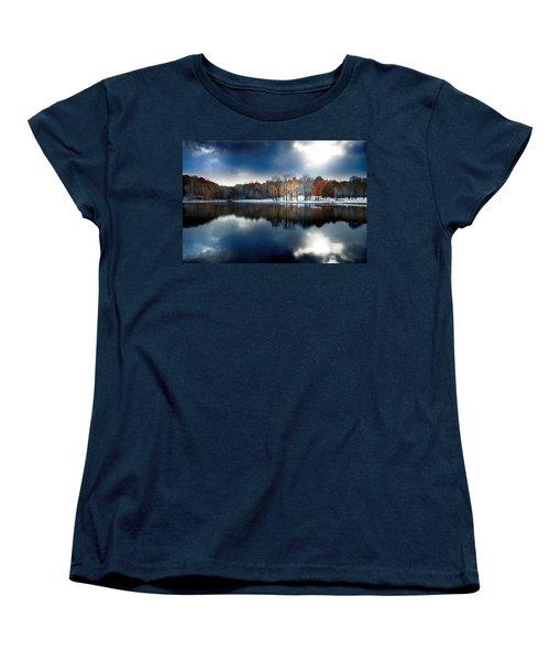 Foreboding Beauty Women's T-Shirt (Standard Cut) by Rob Blair