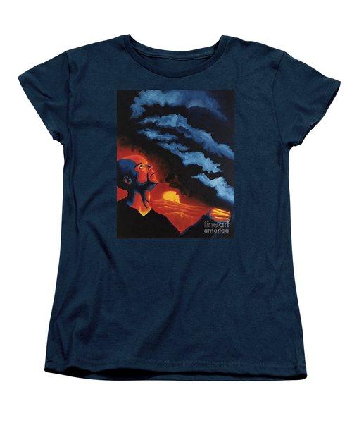 Foreseen Women's T-Shirt (Standard Cut) by Michael  TMAD Finney