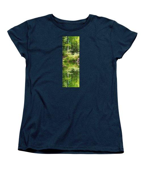 Forest Reflections Women's T-Shirt (Standard Cut) by John Stuart Webbstock