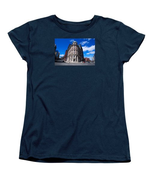 Women's T-Shirt (Standard Cut) featuring the photograph Fork Albany N Y by John Schneider