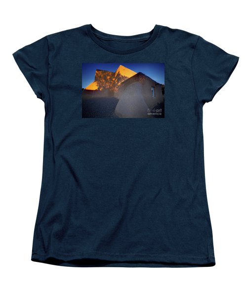Form And Shadow--san Francisco De Asis - Color Women's T-Shirt (Standard Cut) by Gary Holmes