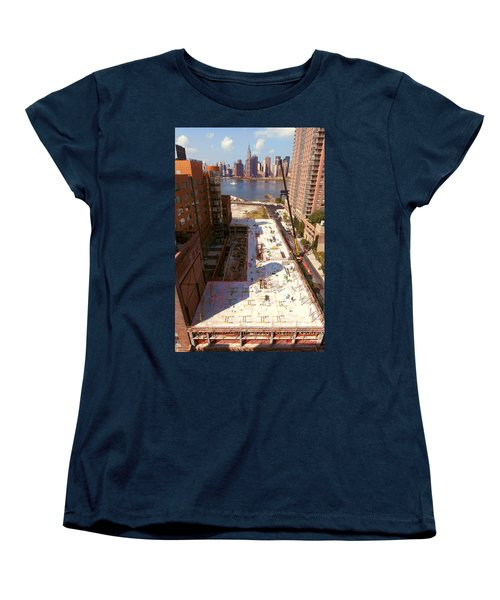 Fourth Floor Slab Women's T-Shirt (Standard Cut) by Steve Sahm