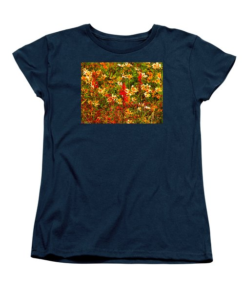 Foxfire 1 Women's T-Shirt (Standard Cut) by Nick Kirby