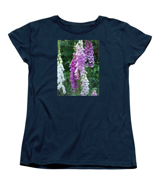 Foxglove After The Rains Women's T-Shirt (Standard Cut) by Eunice Miller
