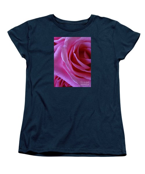 Face Of Roses 2 Women's T-Shirt (Standard Cut) by Gem S Visionary