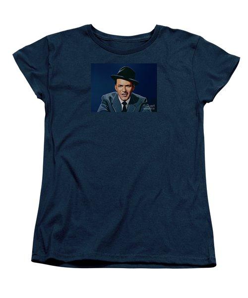 Frank Sinatra Women's T-Shirt (Standard Cut) by Paul Meijering
