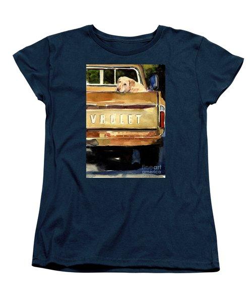 Free Ride Women's T-Shirt (Standard Cut) by Molly Poole