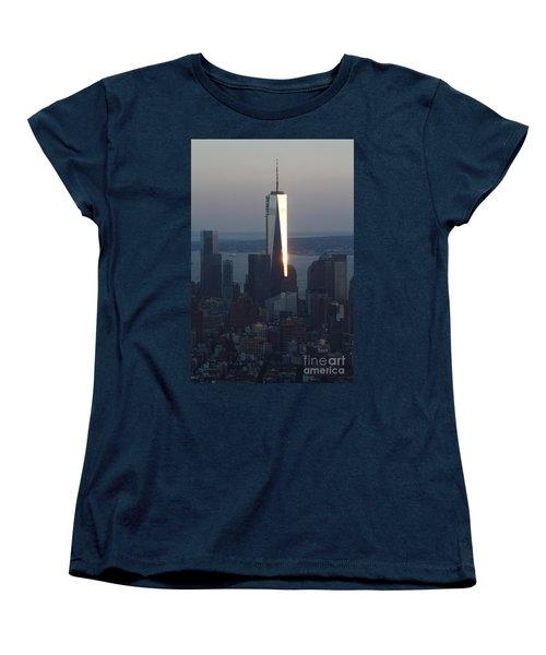 Freedom Tower Women's T-Shirt (Standard Cut) by John Telfer