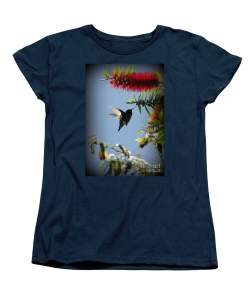 Freeze Women's T-Shirt (Standard Cut) by Priscilla Richardson