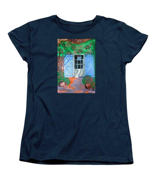 French Farm Yard Women's T-Shirt (Standard Cut) by Magdalena Frohnsdorff