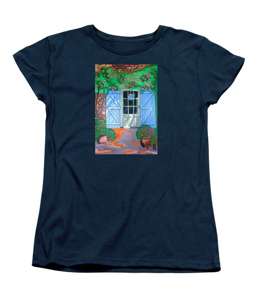 French Farm Yard Women's T-Shirt (Standard Cut)