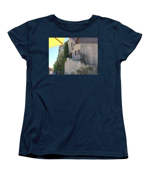 French Riviera - Ramatuelle Women's T-Shirt (Standard Cut) by HEVi FineArt