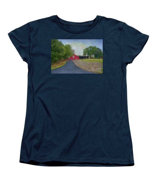 Women's T-Shirt (Standard Cut) featuring the photograph Fresh Country Charm by Liane Wright