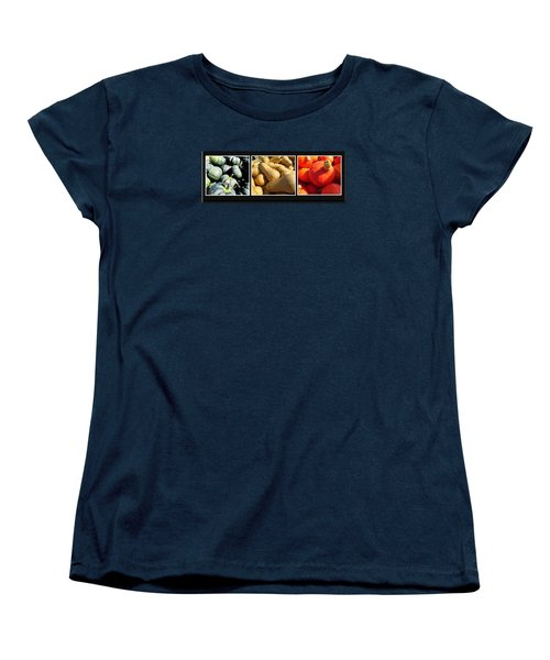 Women's T-Shirt (Standard Cut) featuring the photograph Colors Of Autumn 1 by Tina M Wenger