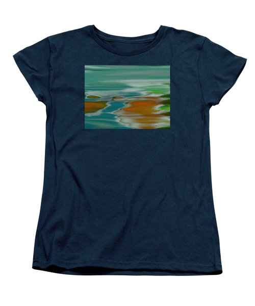 From The River To The Sea Women's T-Shirt (Standard Cut) by Lenore Senior