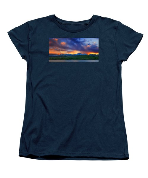 Front Range Light Show Women's T-Shirt (Standard Cut)