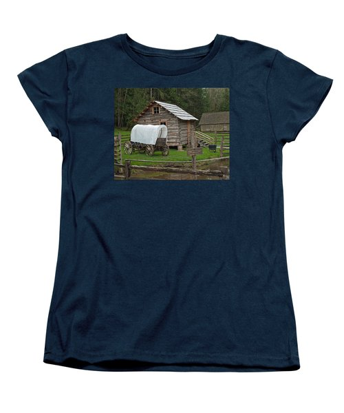 Frontier Life Women's T-Shirt (Standard Cut) by Tikvah's Hope