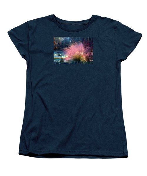 Frosty Scene Women's T-Shirt (Standard Cut) by Kathryn Meyer