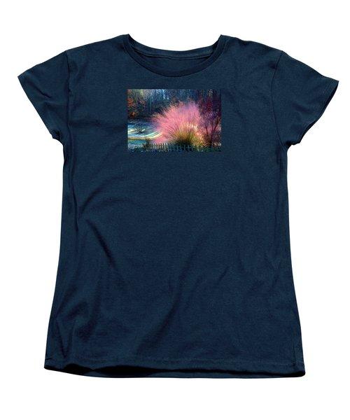 Frosty Scene Women's T-Shirt (Standard Cut)