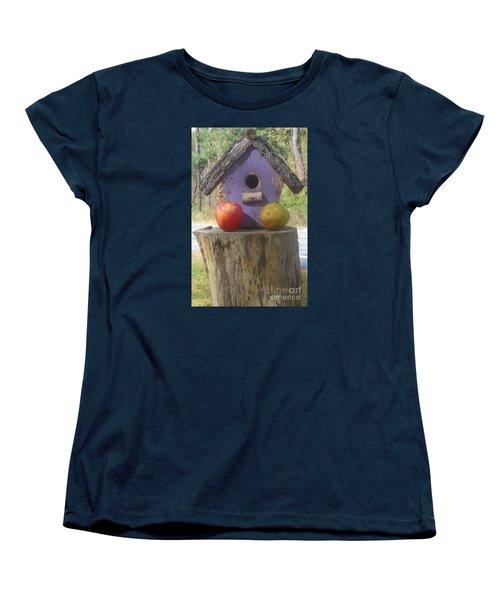 Fruity Home? Women's T-Shirt (Standard Cut) by Christina Verdgeline