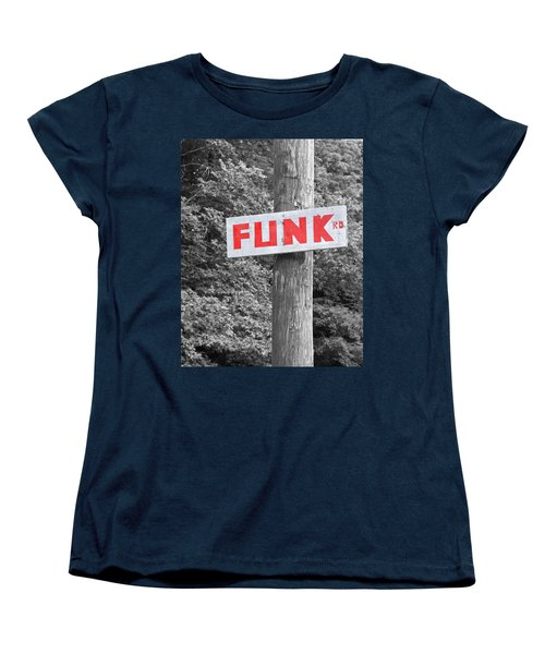 Women's T-Shirt (Standard Cut) featuring the photograph Funk Road by Brooke T Ryan