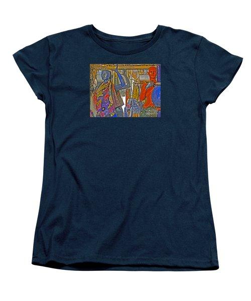 Women's T-Shirt (Standard Cut) featuring the photograph Funky Boutique by Ann Horn